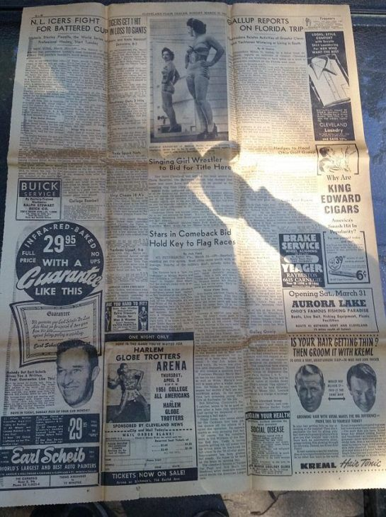 old paper found by couple as evidence for FBI