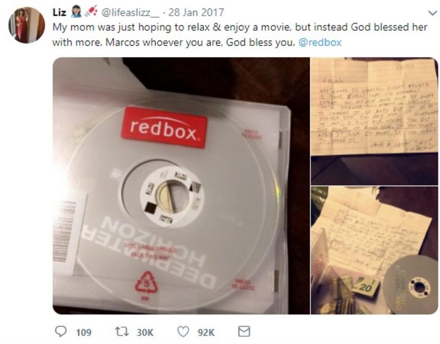 DVD rental box giveaway 2017