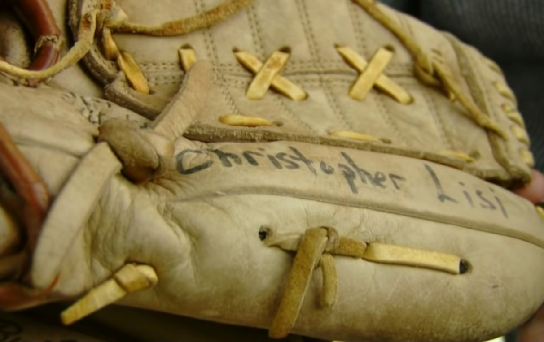 baseball mitt found in Goodwill