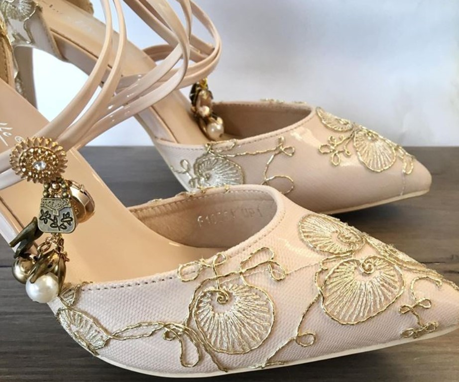 quality handcrafted bridal shoes