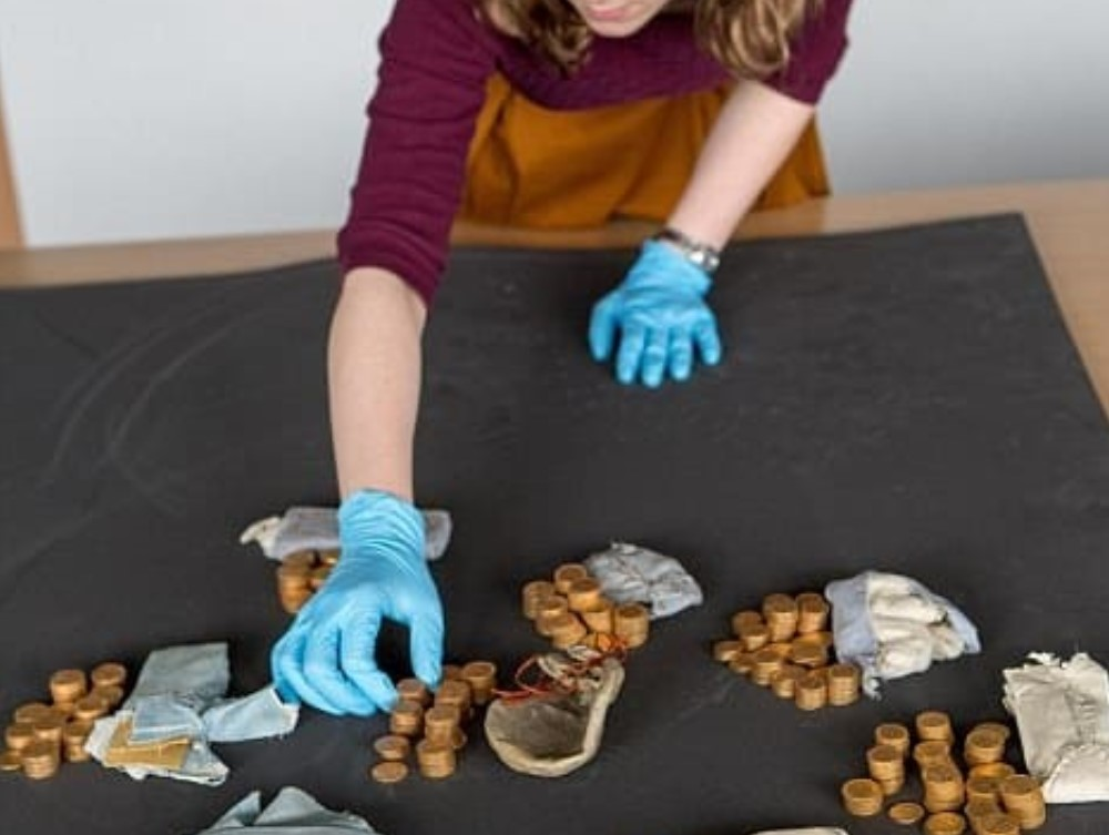huge coin hoard found inside piano