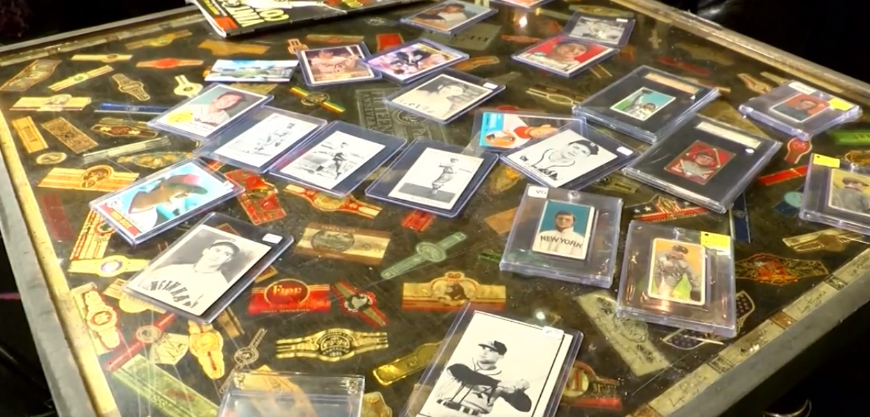 collecting vintage baseball cards