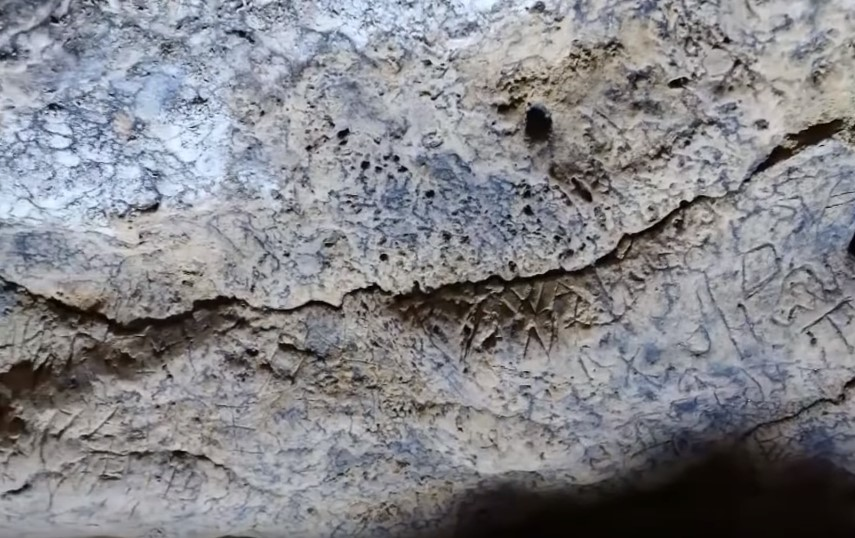 witch marks found inside cave