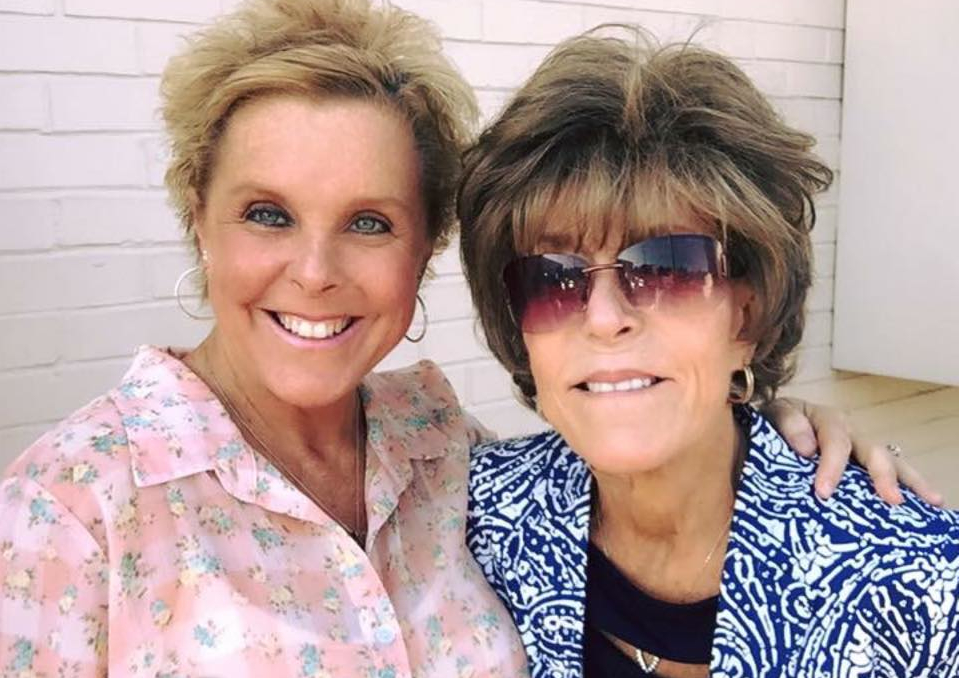 Tracey Hall revealed that they were sisters
