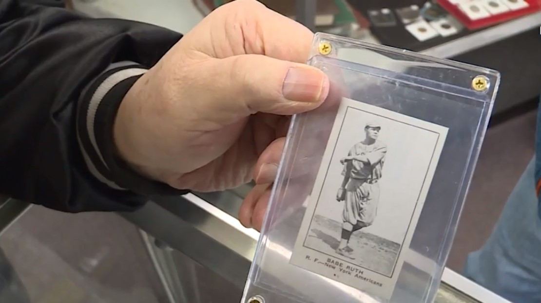 keeping a rare baseball card safe