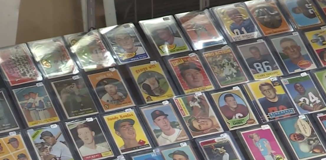 completing the baseball card collection