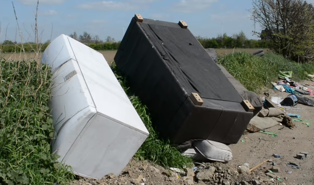 farmers fall prey to fly tipping