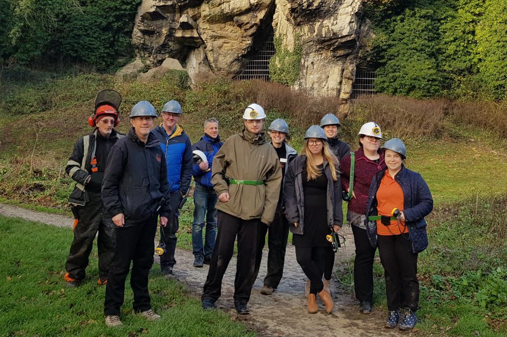 Subterrania Brittanica, a group of cavers