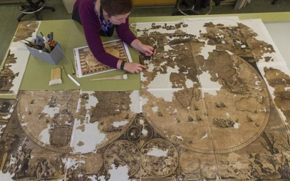 renovations lead to rare chimney find