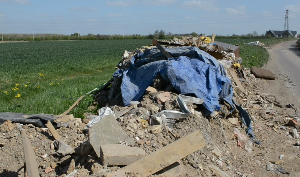 dumping on farms can be reported