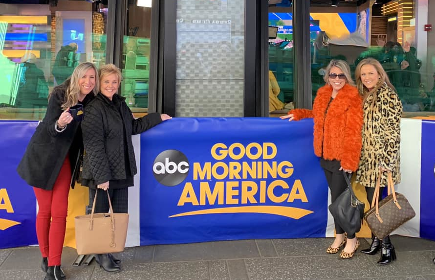 the sisters appear on Good Morning America