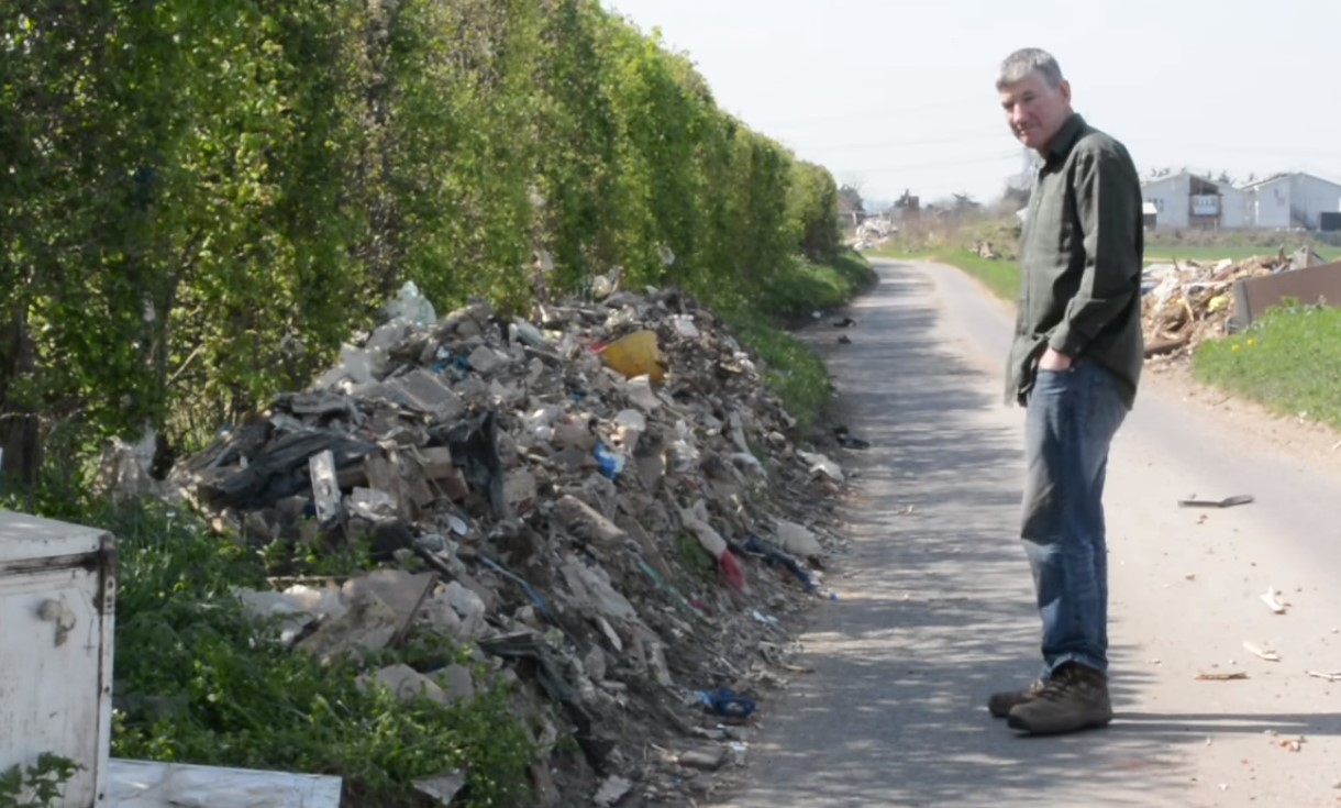 illegal dumping on farms