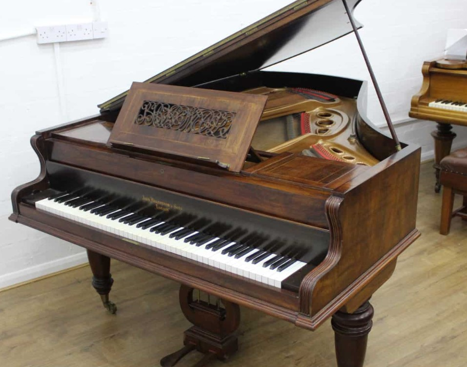 they gave away something much more than a piano