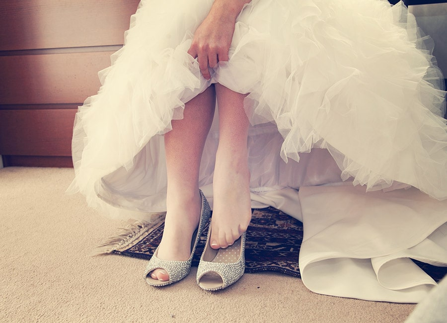 shoes perfect for any wedding dress