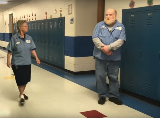 all eyes on Francis the janitor