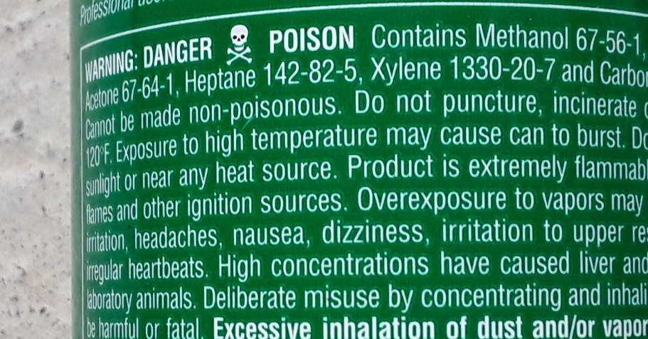 poisonous substance in McDonalds coffee