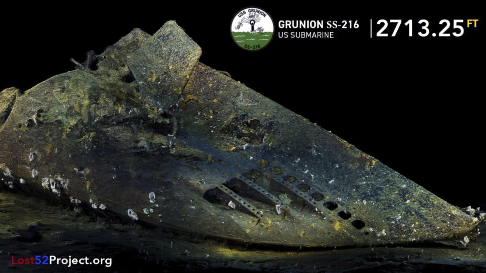 Missing Submarine USS Grunion Found After Almost 80 Years