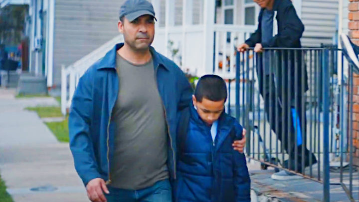 Dad Goes Past Men Who Mock Son Daily, Doesn't Realize What's Under His Coat