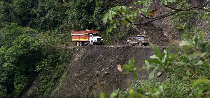 25 Of The World's Most Dangerous Roads